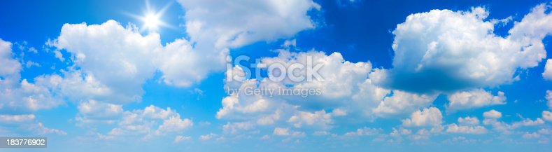 istock Sun and clouds (49Mpx) 183776902