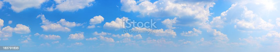 istock Sun and clouds (70Mpx) 183791835
