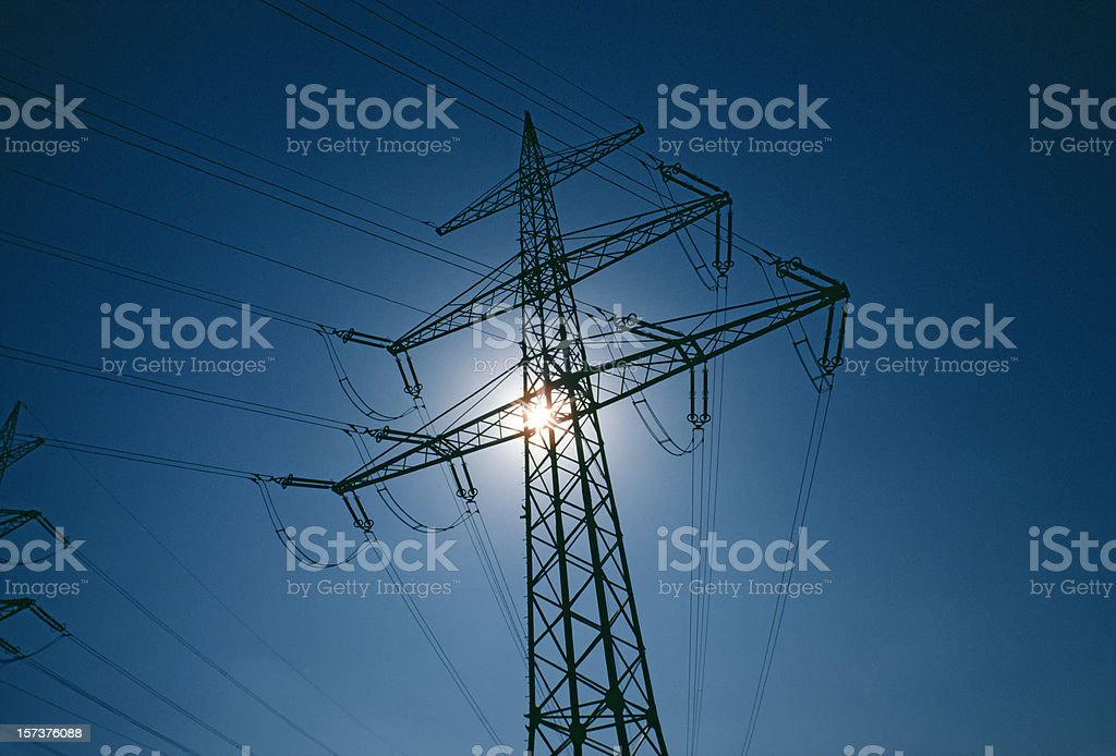 Sun and energy royalty-free stock photo