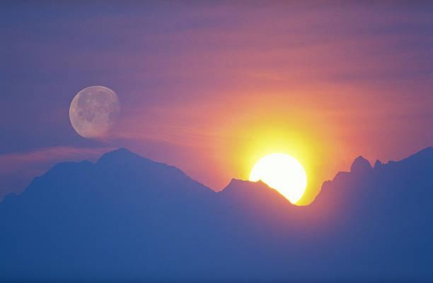 Sunlight On Moon