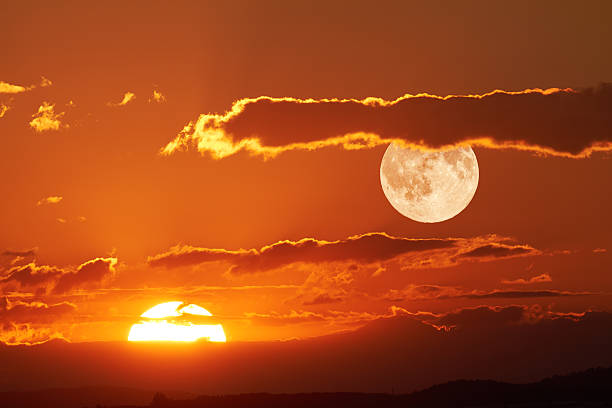 best sun and moon stock photos pictures royalty free