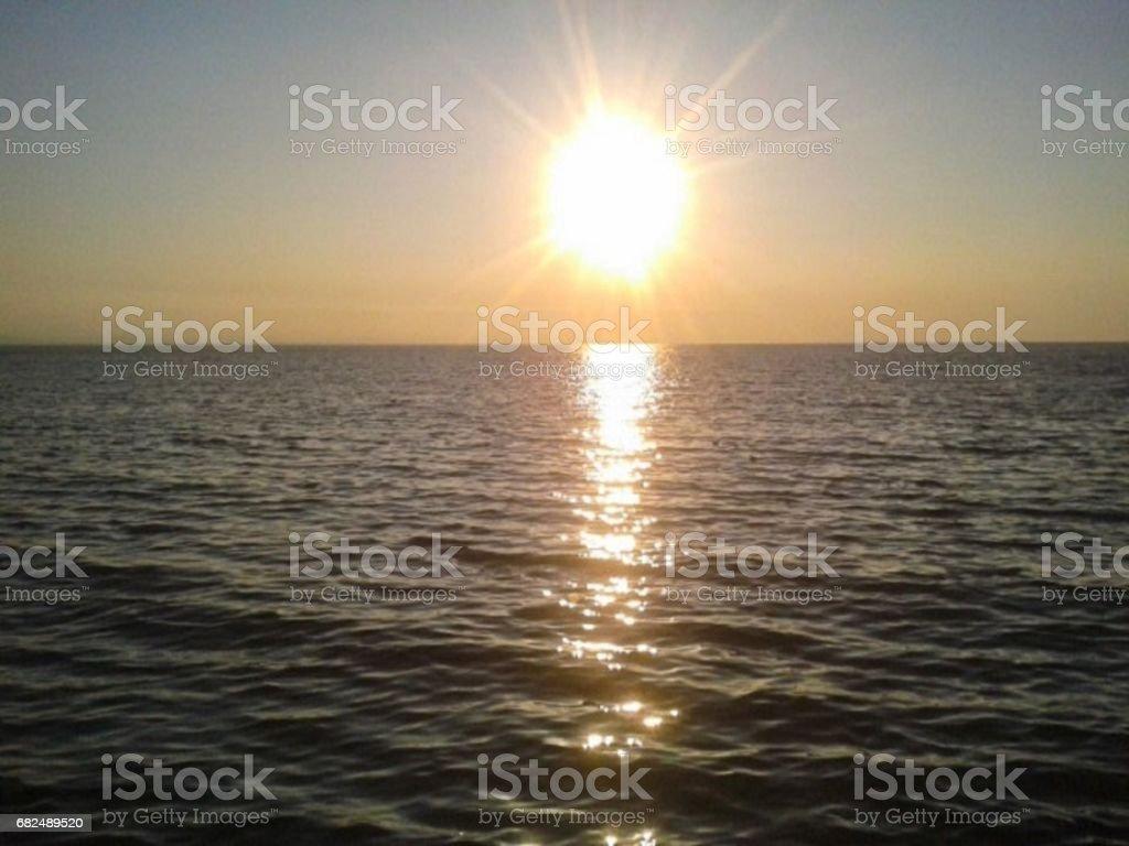 Sun and Sea royalty-free stock photo
