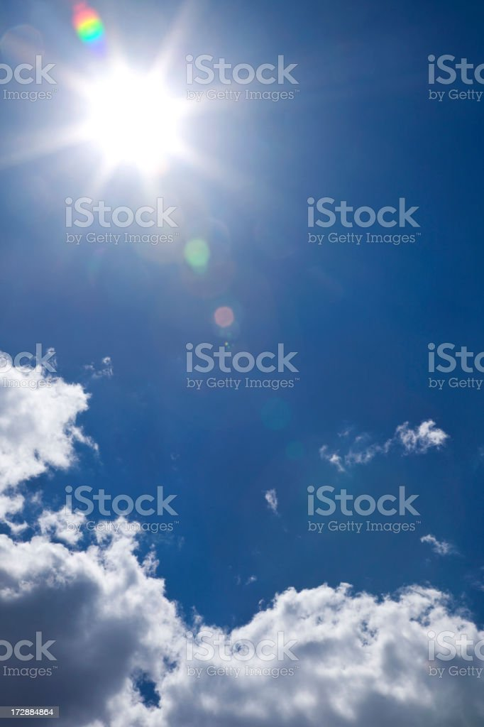 Sun and Sky(XXL) royalty-free stock photo