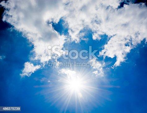 istock Sun and sky 486375239