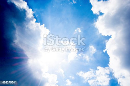 istock Sun and sky 486375241
