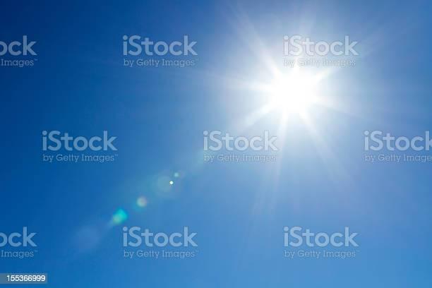 Sonne Am Himmel Mit Textfreiraum Stockfoto und mehr Bilder von Ausgedörrt