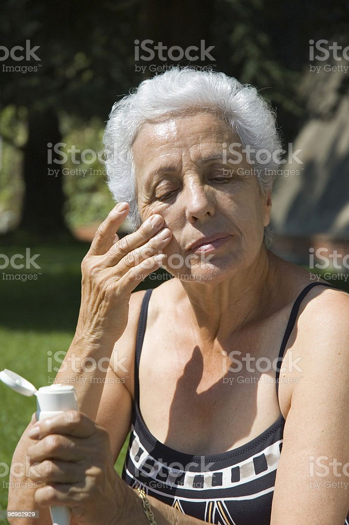 Sun care royalty-free stock photo