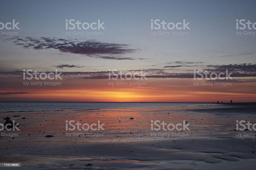 Sun downer bei Ebbe – Foto