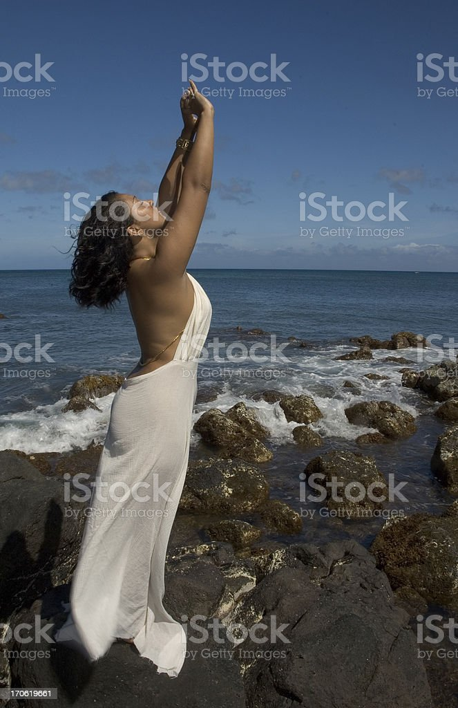 Sun Goddess royalty-free stock photo