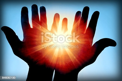 istock Sun in my hands (50 megapixels) 846082130