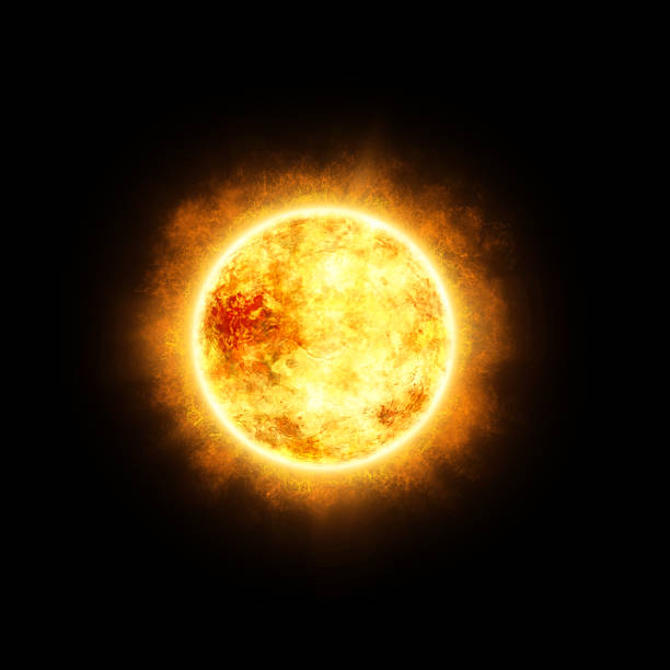 sun in space - space and astronomy stock photos and pictures