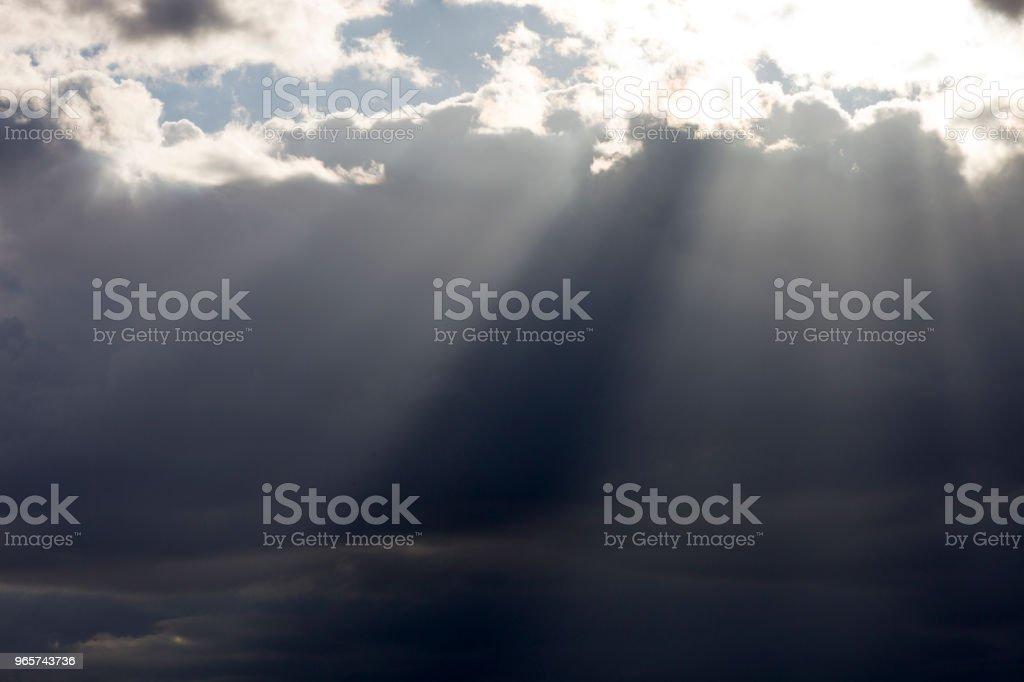 Sun Is Lightening - Royalty-free Above Stock Photo