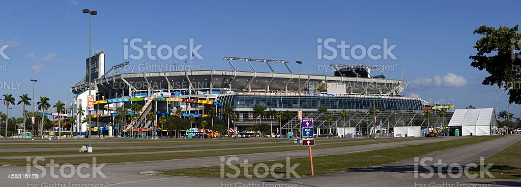 Sun Life Stadium stock photo
