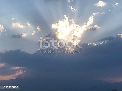 istock Sun light in the Sky 1323230655