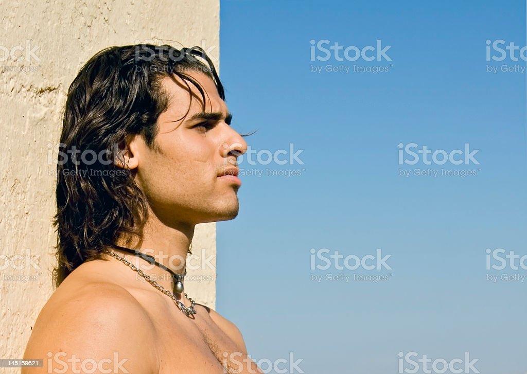 Sun Man royalty-free stock photo