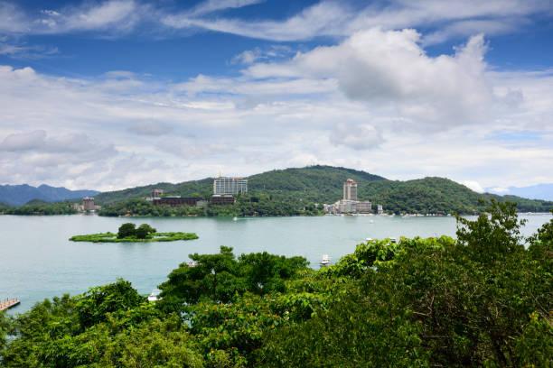 Sun Moon Lake nationale malerische Gegend in Taiwan – Foto