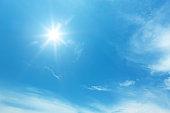 太陽でブルースカイ