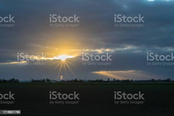 Photo of Sun peeks through the clouds