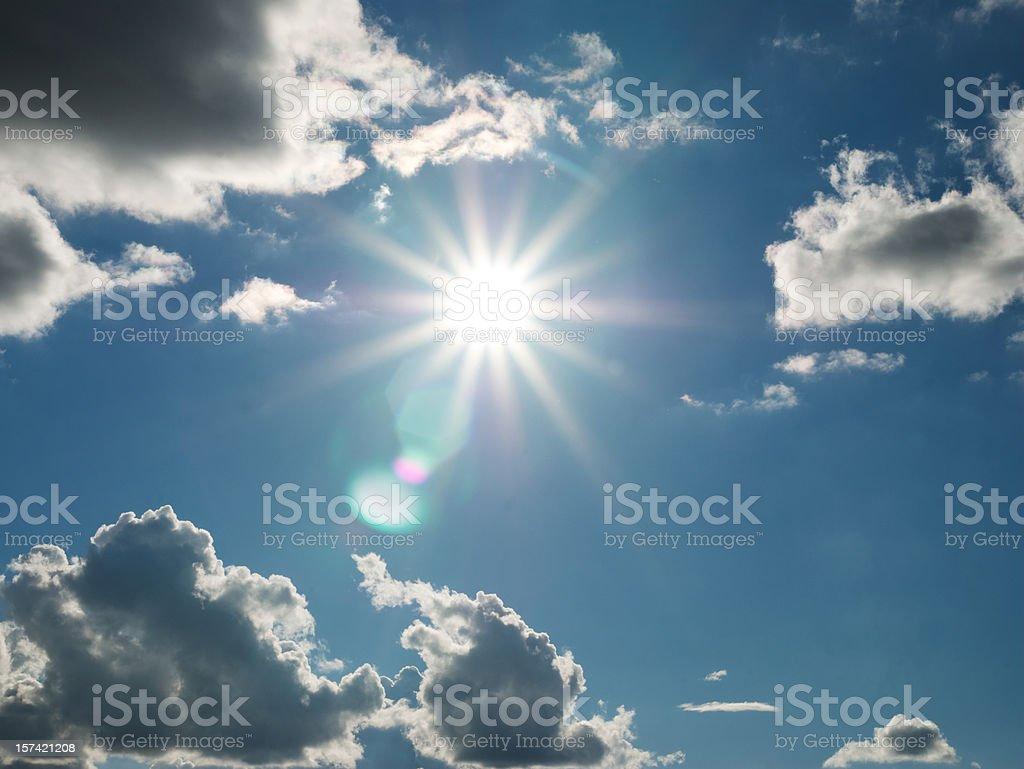 Sun royalty-free stock photo