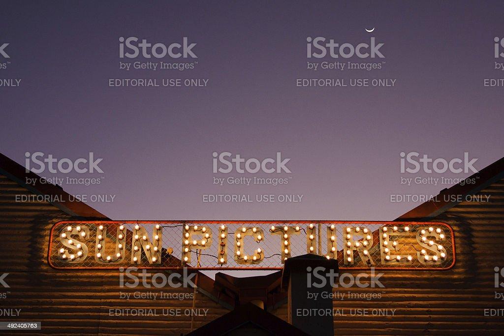 Sun Pictures, Cinema, Broome, Western Australia stock photo
