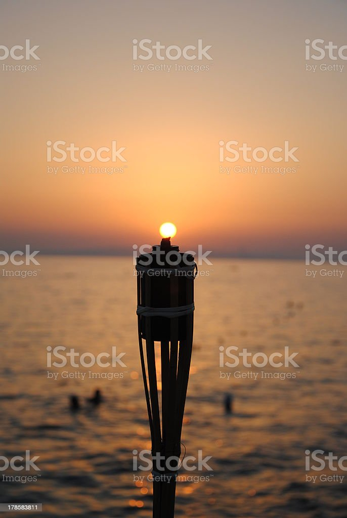 Sun Point royalty-free stock photo