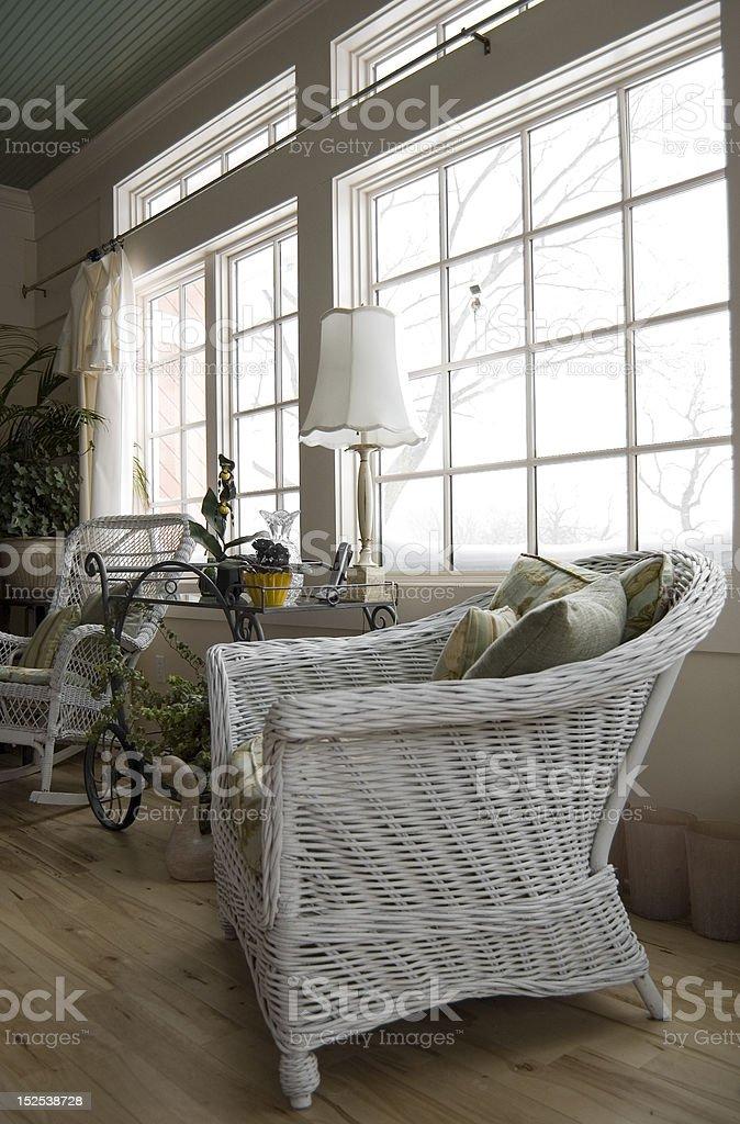 Sun Porch stock photo