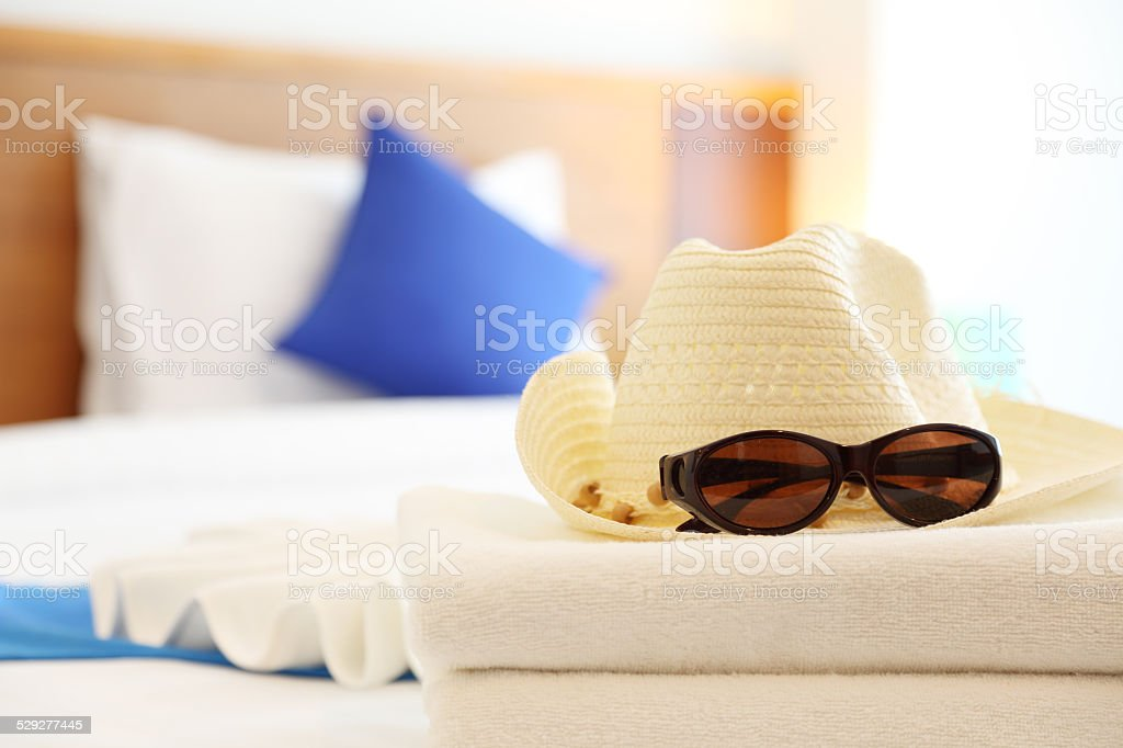 Sun Protection in Summer stock photo