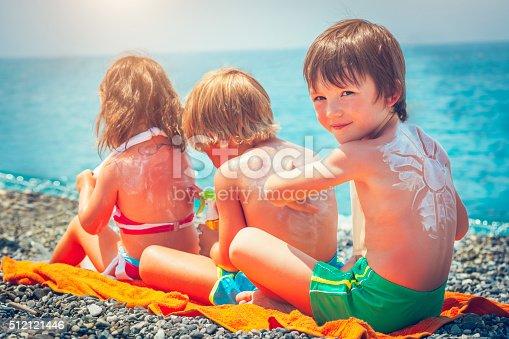 istock Sun protection on the beach 512121446