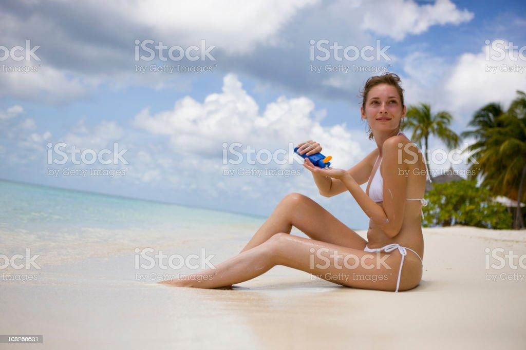 Sun protection royalty-free stock photo