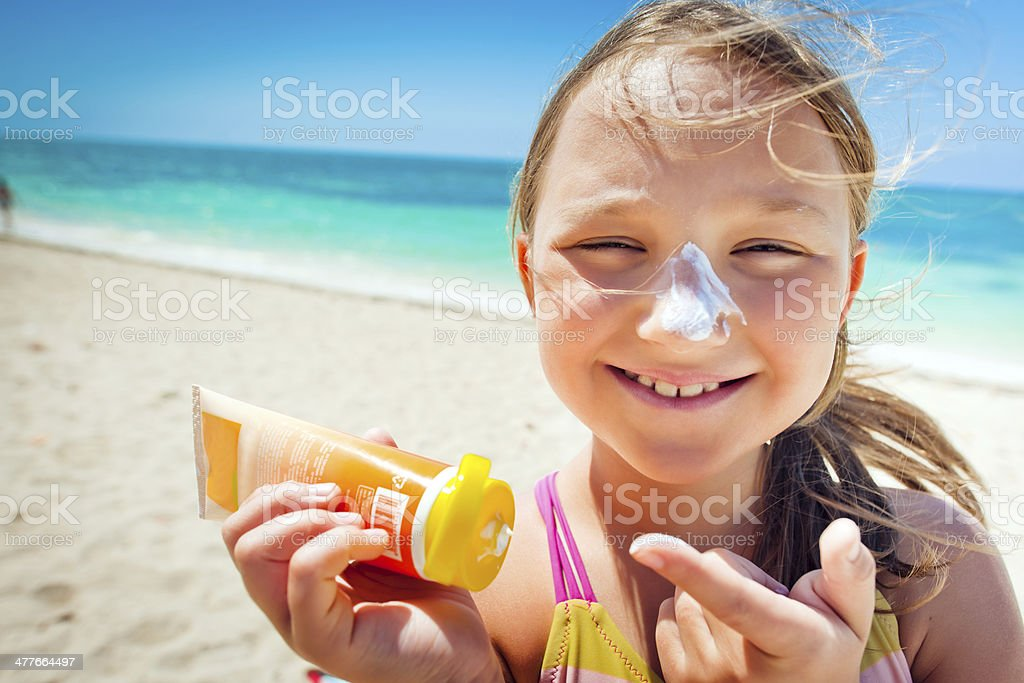 Sun protección - foto de stock