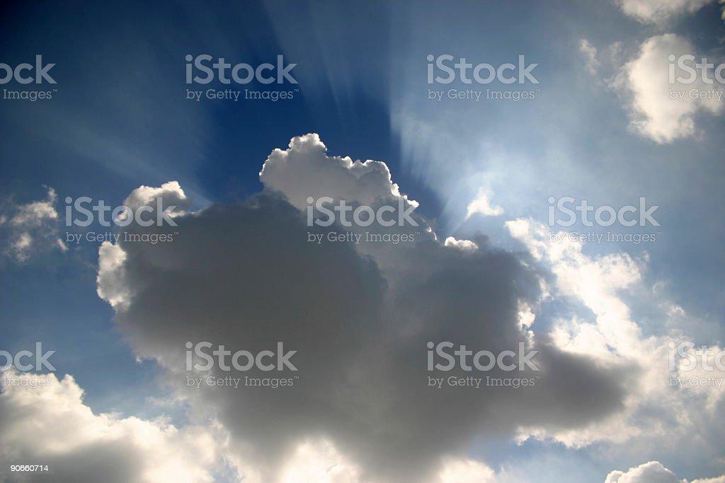 Sun Rays 2 royalty-free stock photo