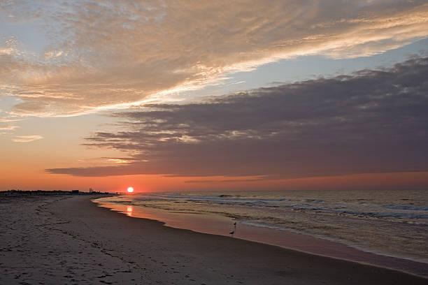Sun Rise at Jones Beach, NY