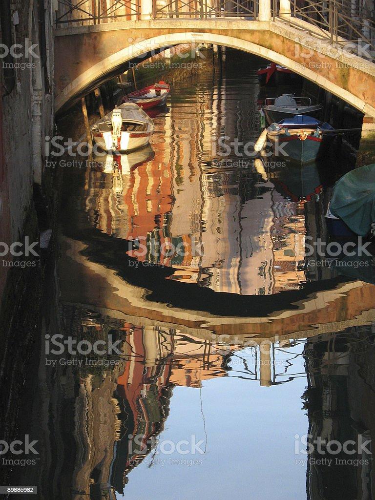 Sonnenuntergang über Venedig Lizenzfreies stock-foto