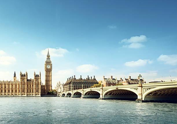 Big Ben in sonnigen Tag, London – Foto