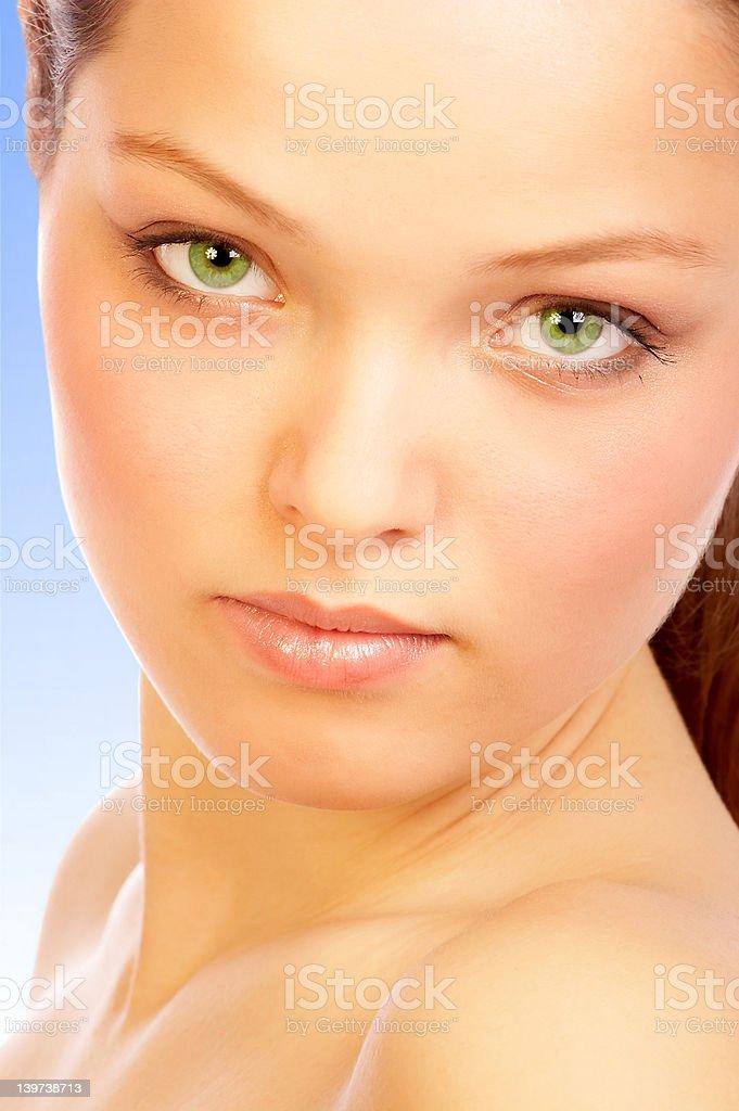 Sun skin. royalty-free stock photo