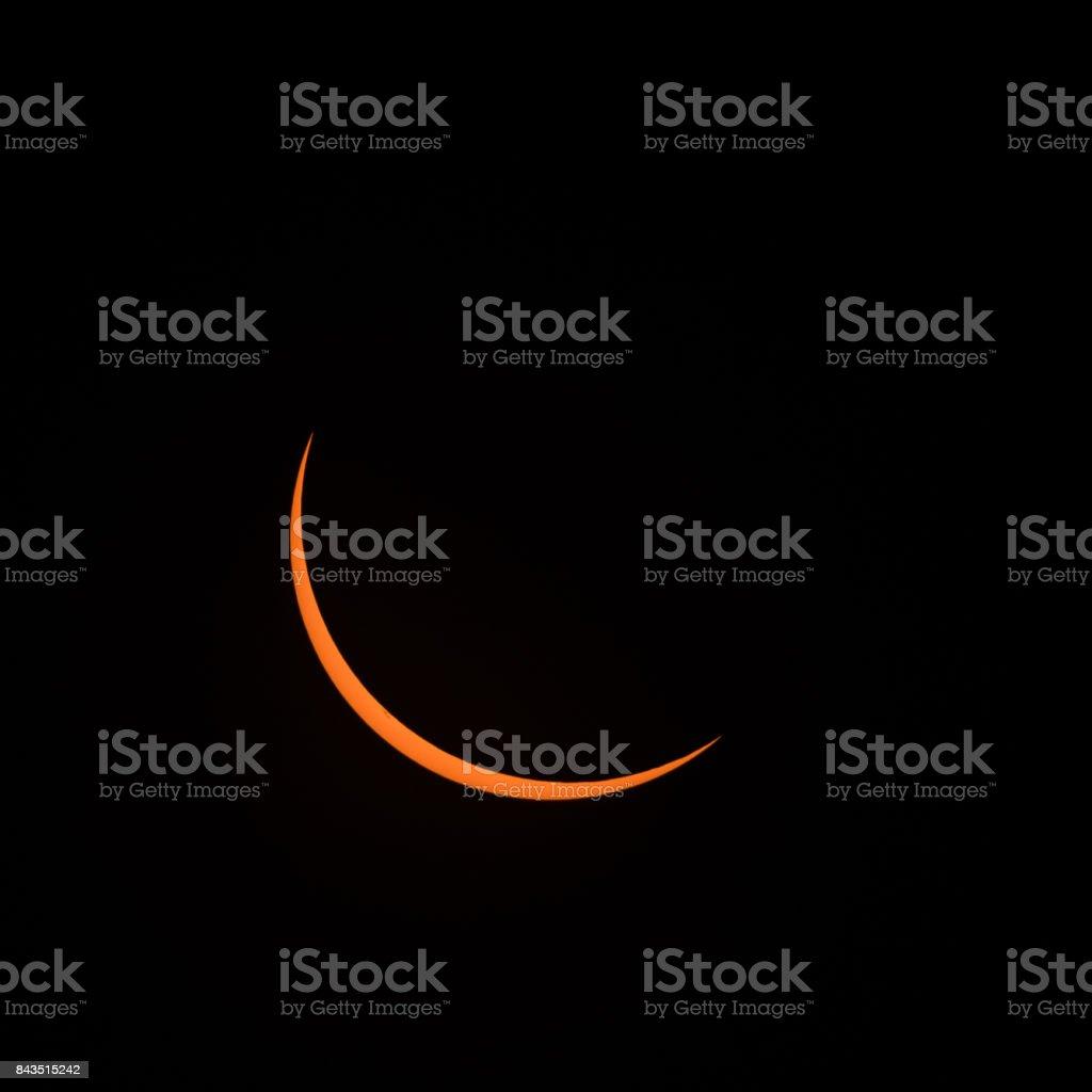 Sun Sliver stock photo