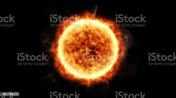 Eyecciones de masa coronales solar llamarada Solar las partículas - Foto de stock de Abstracto libre de derechos