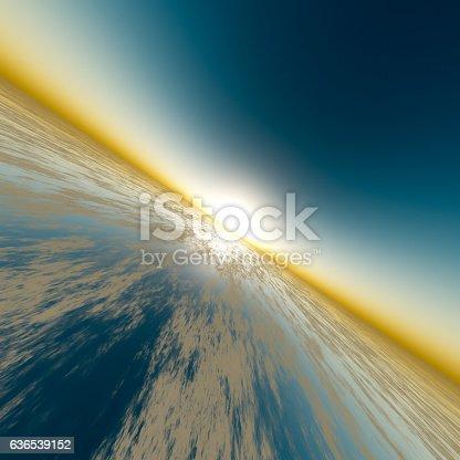 istock Sun Speed Horizon 636539152