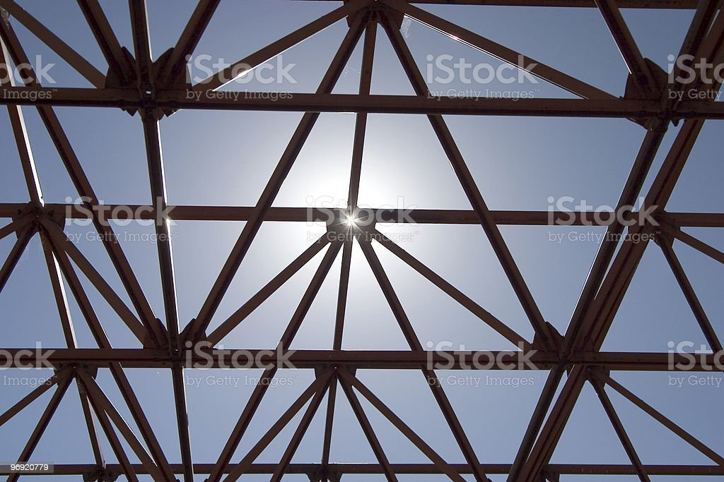 Sun Structure royalty-free stock photo