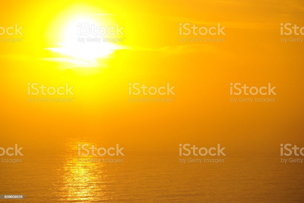 Sonne Sonne Gelb Hintergrund Meer Reflexion Atlantic Chapman Es Peak