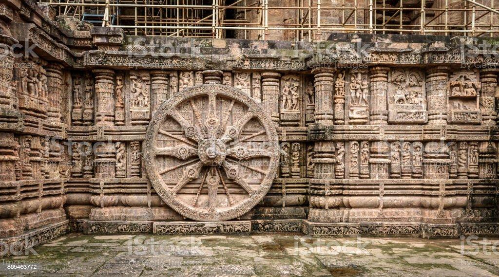 Sun Temple stock photo