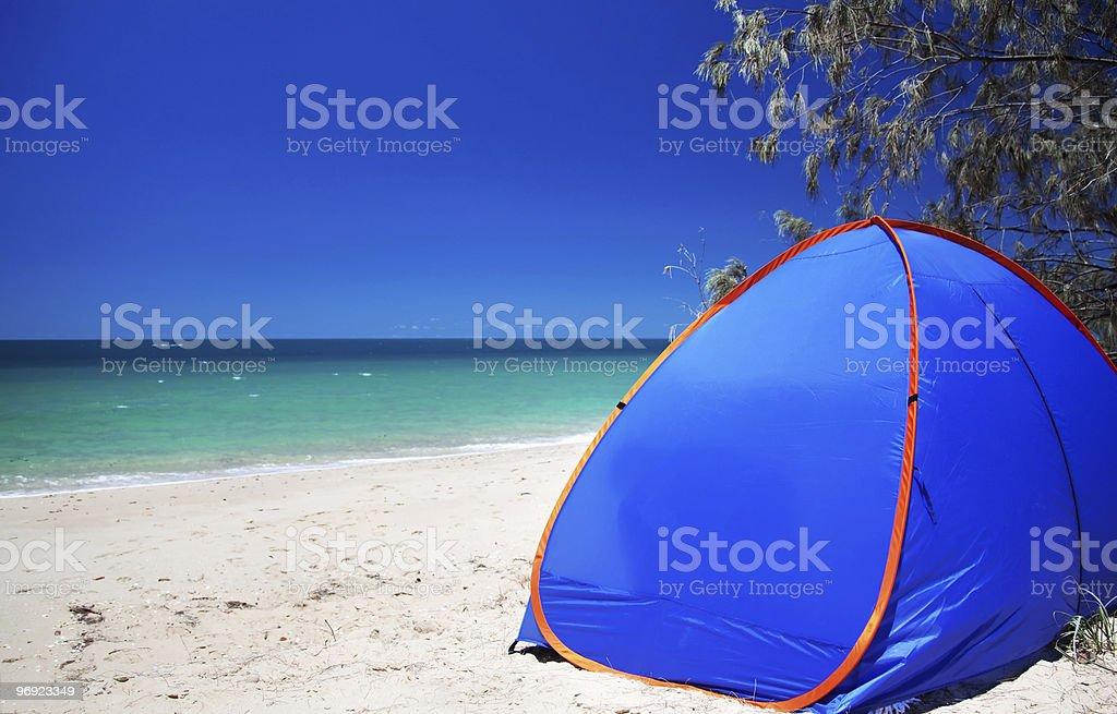 Sun Tent royalty-free stock photo