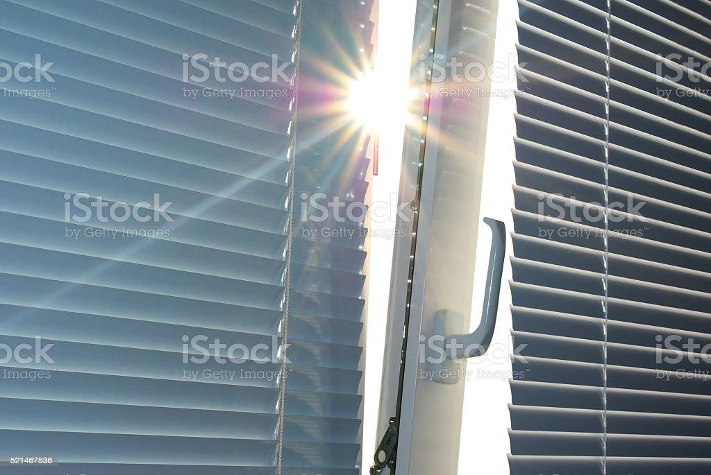 Sonne durch das Fenster. – Foto