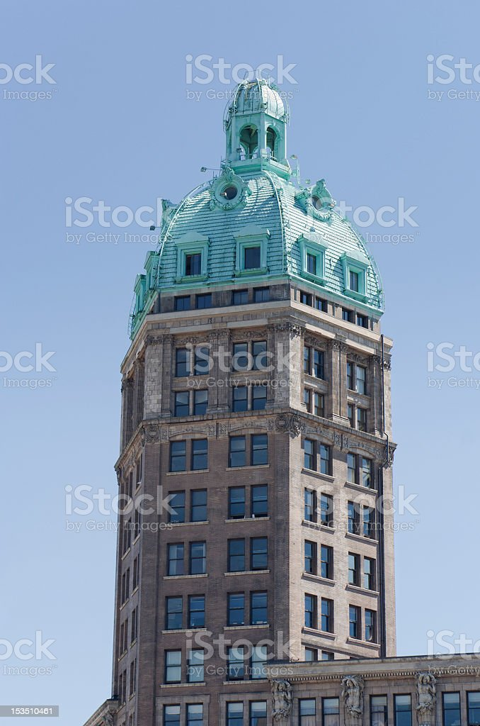 Sun Tower in Vancouver royalty-free stock photo