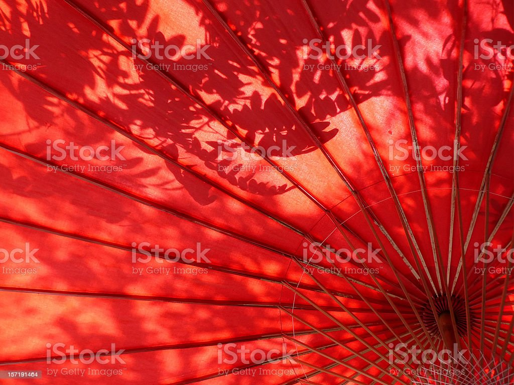 sun umbrella royalty-free stock photo