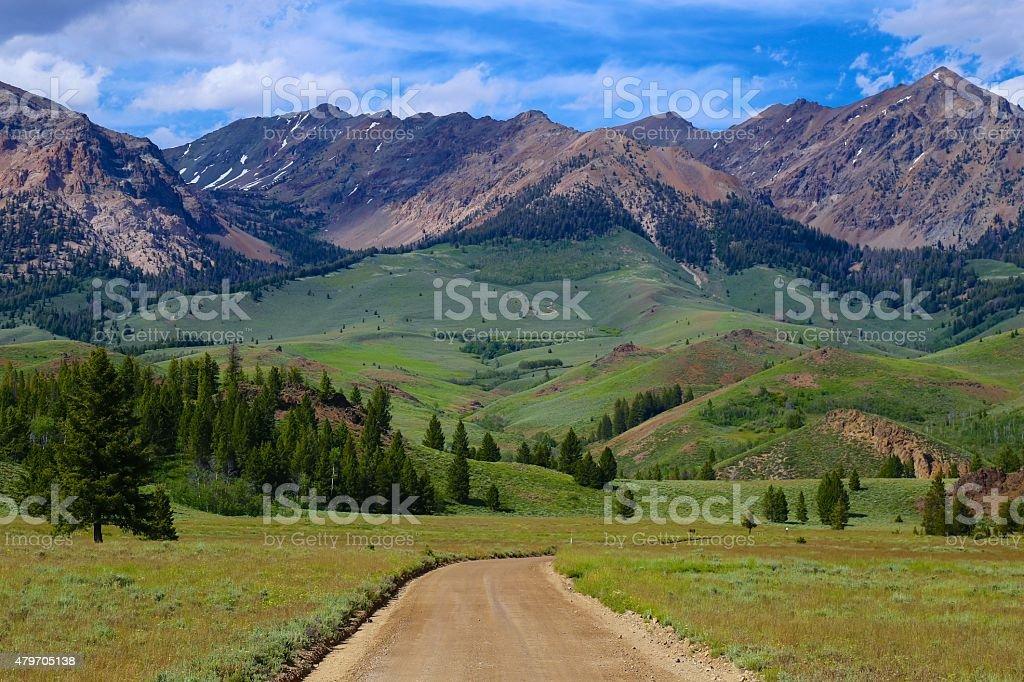 Sun Valley, Idaho stock photo