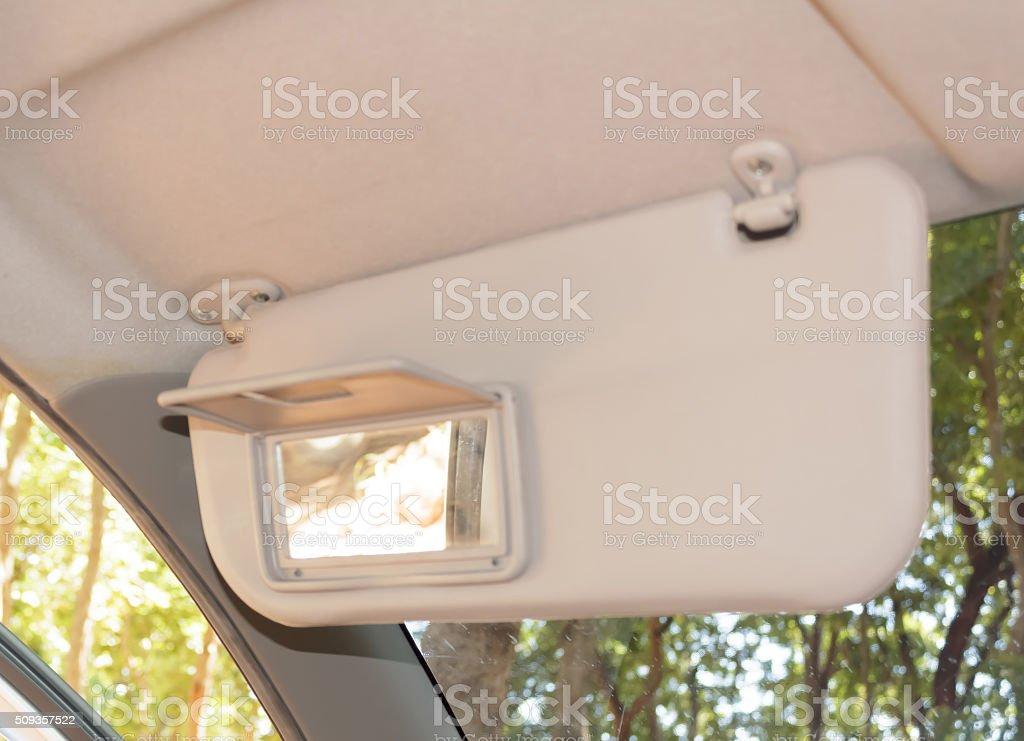 sun visor stock photo