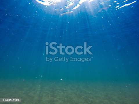 665352250istockphoto Sunbeam in sea 1143502389