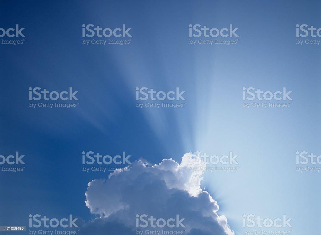 Sunbeam (image size XXL) royalty-free stock photo