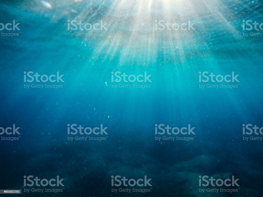 Sunbeam stock photo